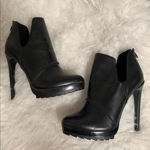 Zara tracksole boot heels
